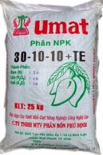 NPK 30-10-10 ( nẩy chồi, đọt non, ra lá)